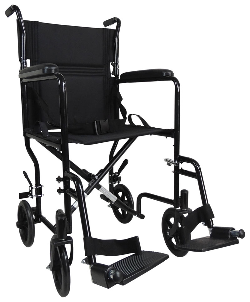 Aluminium Compact Transport Wheelchair B