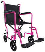 Aluminium Compact Transport Wheelchair P