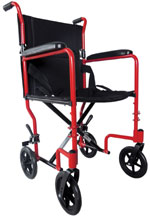Aluminium Compact Transport Wheelchair R