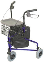 Tri Walker with Bag Basket and Tray