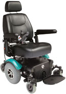 Rascal P327 Powerchair Teal
