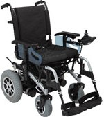 Rascal P200 Mini Powerchair Silver