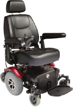 Rascal P327 Powerchair Red